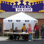 AIS staff volunteer for Madison For Keeps