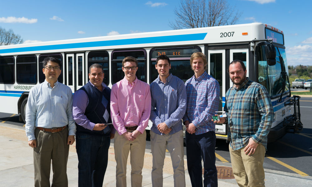 Students improve bus transit operations