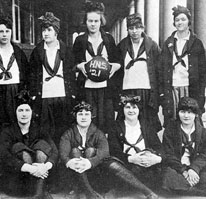 1920-21 Basketball Team