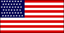 46 Star United States Flag