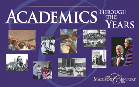 Click here to see Academics Through the Years Banner