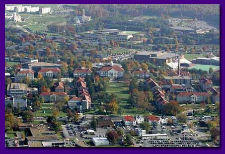 James Madison University in Fall 2004