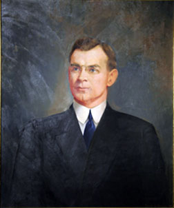 Portrait of Professor Johnston