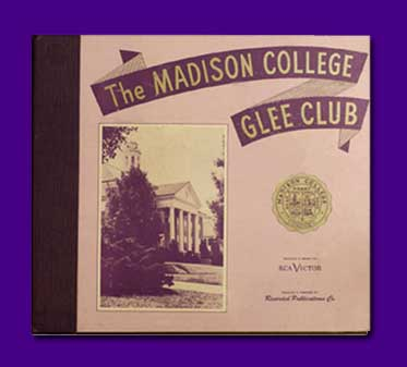 Cover of Madison College Glee Club Album