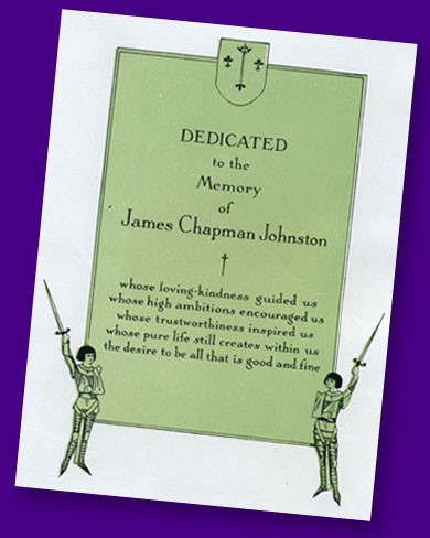 Page from 1928 yearbook