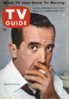 Edward Murrow on the cover of TV Guide