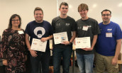 JMU CS students third at ICPC 2019