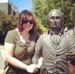 Picture of Nicole Hudak, graduate student at JMU