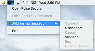 James Madison University - Pulse Secure: Installation