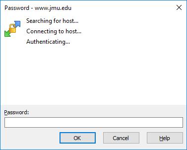 WinSCP Password