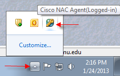 Cisco NAC Agent