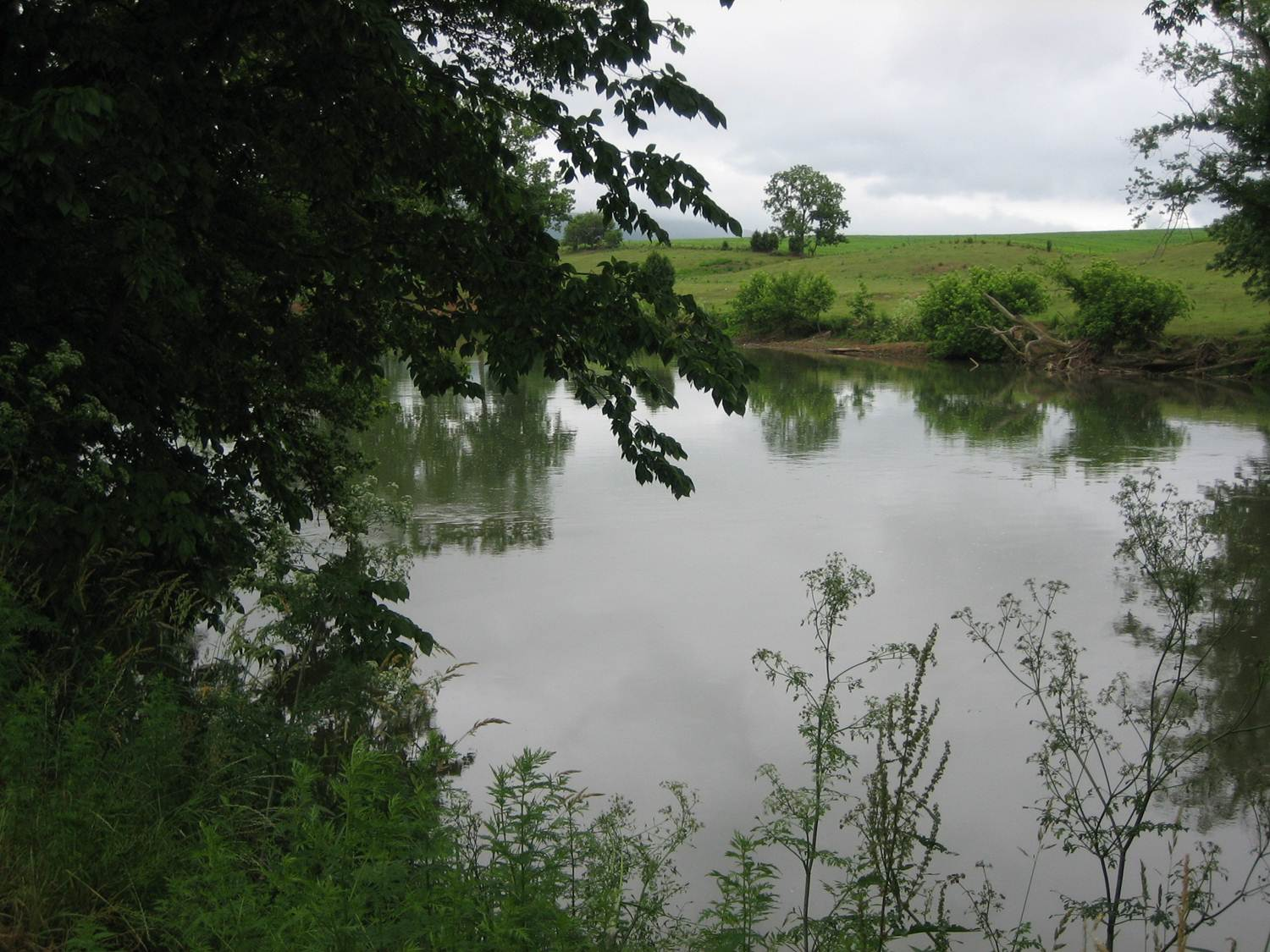 North River at JMU farm