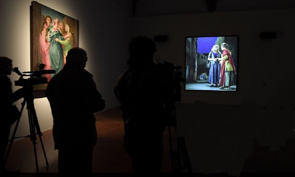 Bill Viola Electric Renaissance Exhibit