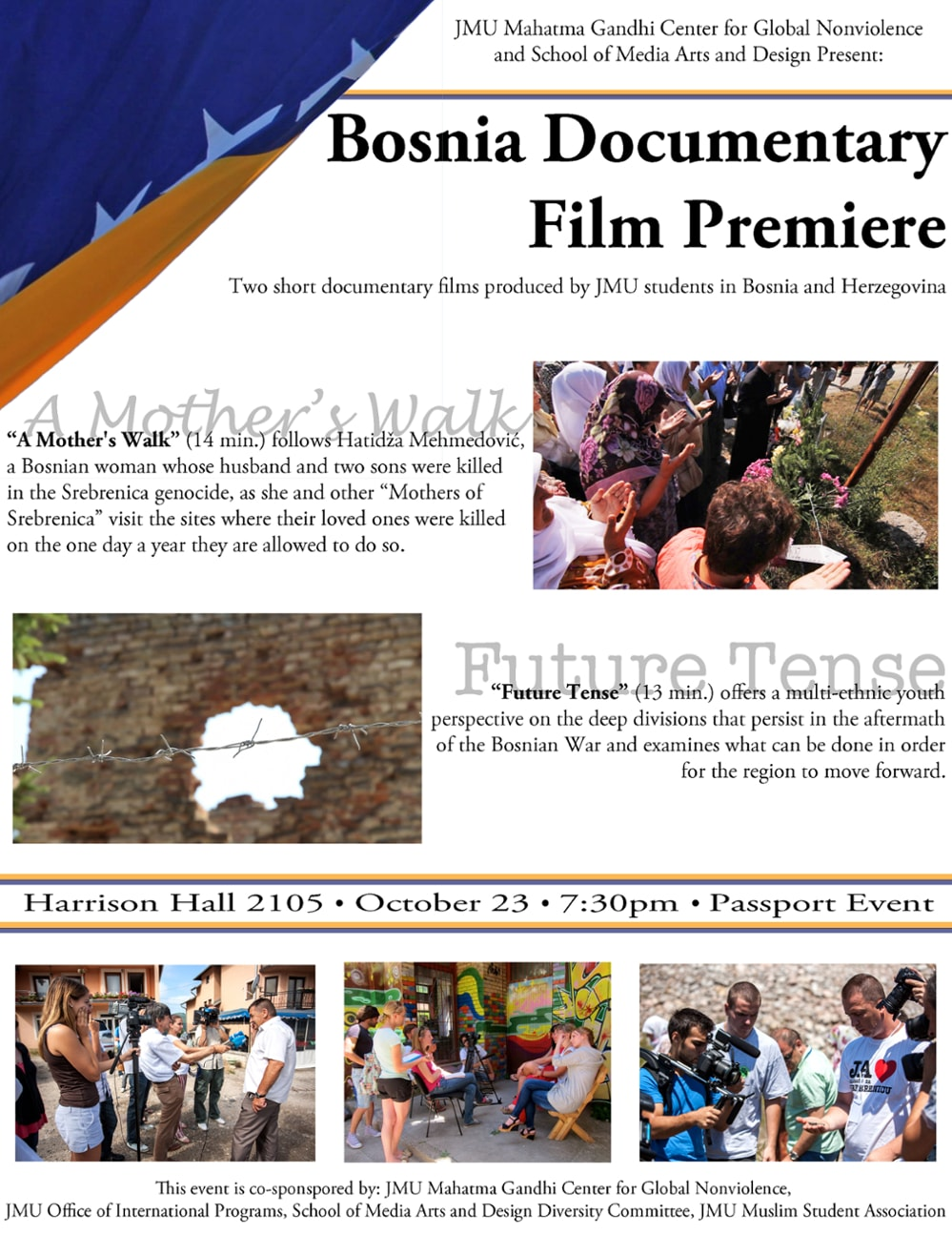 Bosnia Documentary Film Premiere