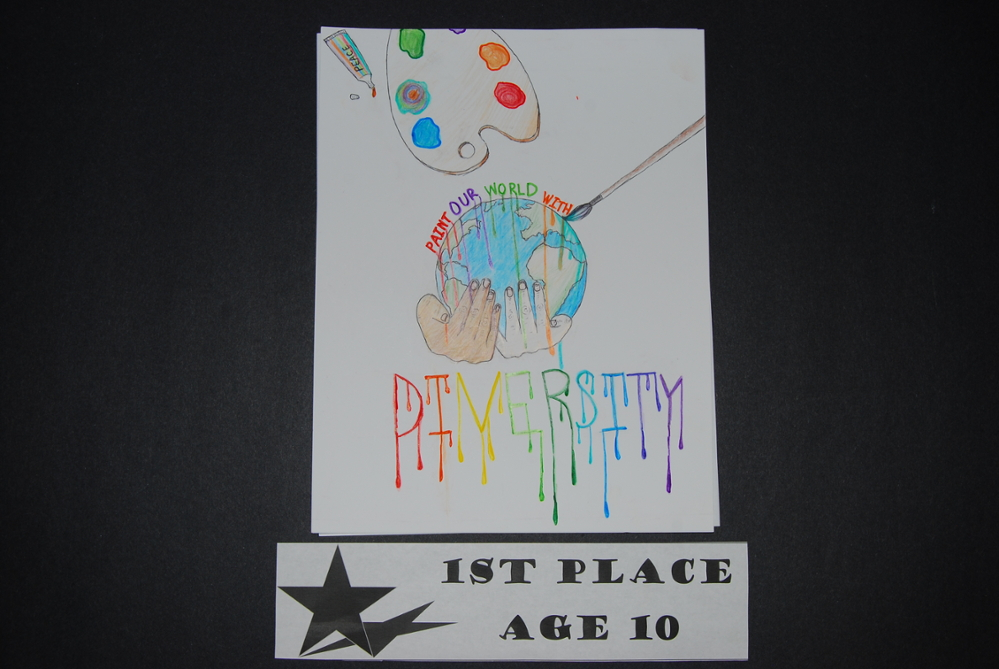 Drawing Peace 1st Place Age 10