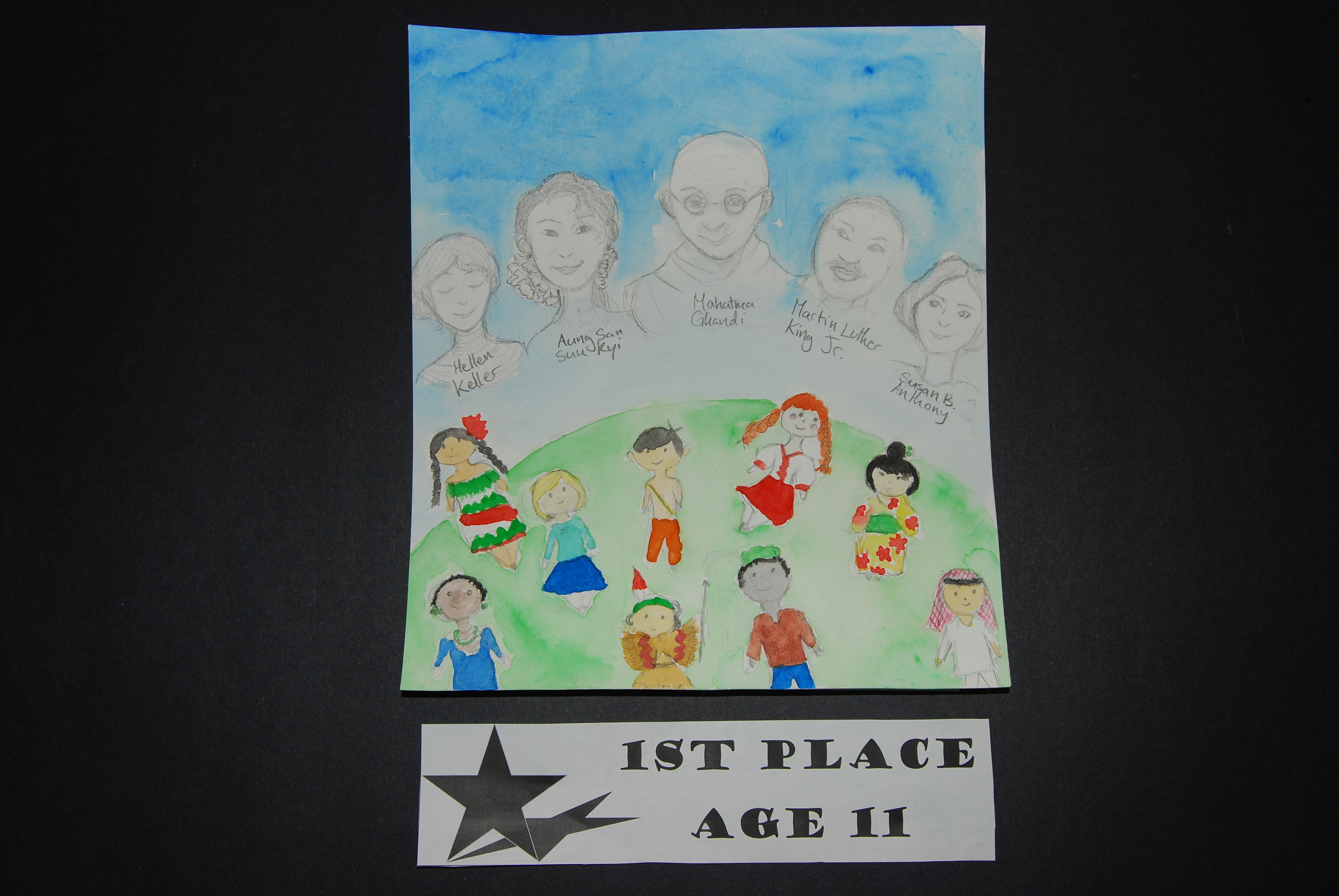 Drawing Peace 1st Place Age 11
