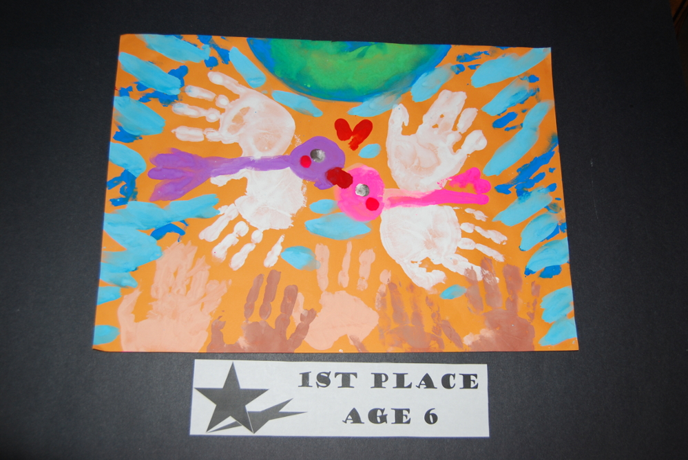 Drawing Peace 1st Place Age 6