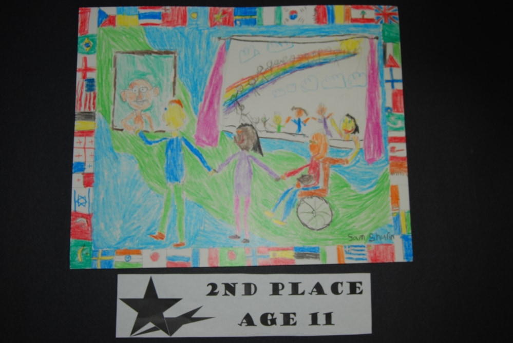 Drawing Peace 2nd Place Age 11