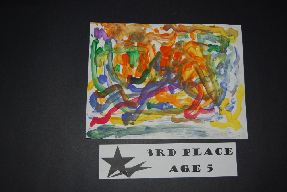 Drawing Peace 3rd Place Age 5