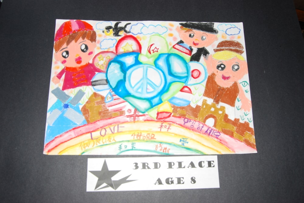 Drawing Peace 3rd Place Age 8