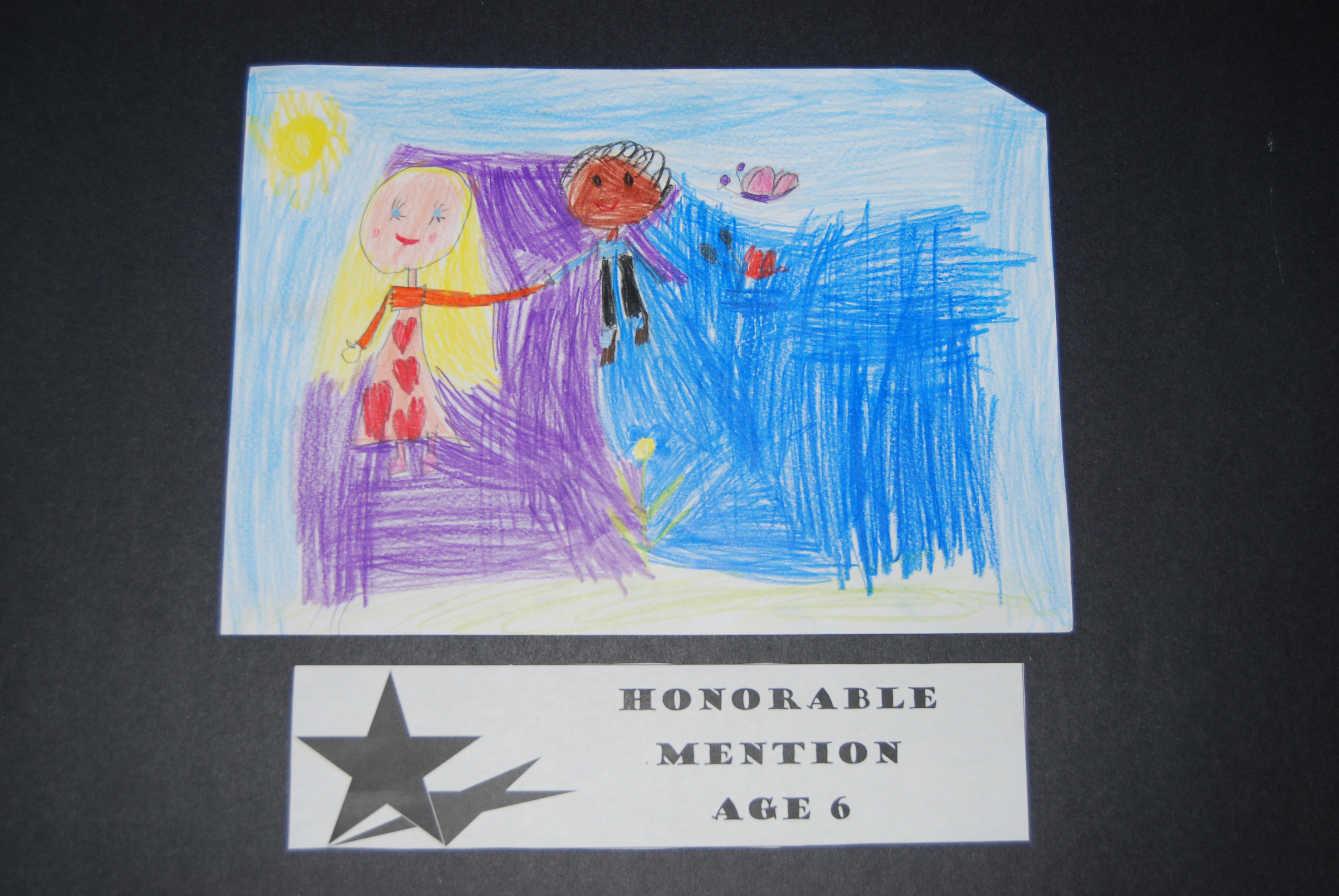 Drawing Peace Honorable Mention Age 6