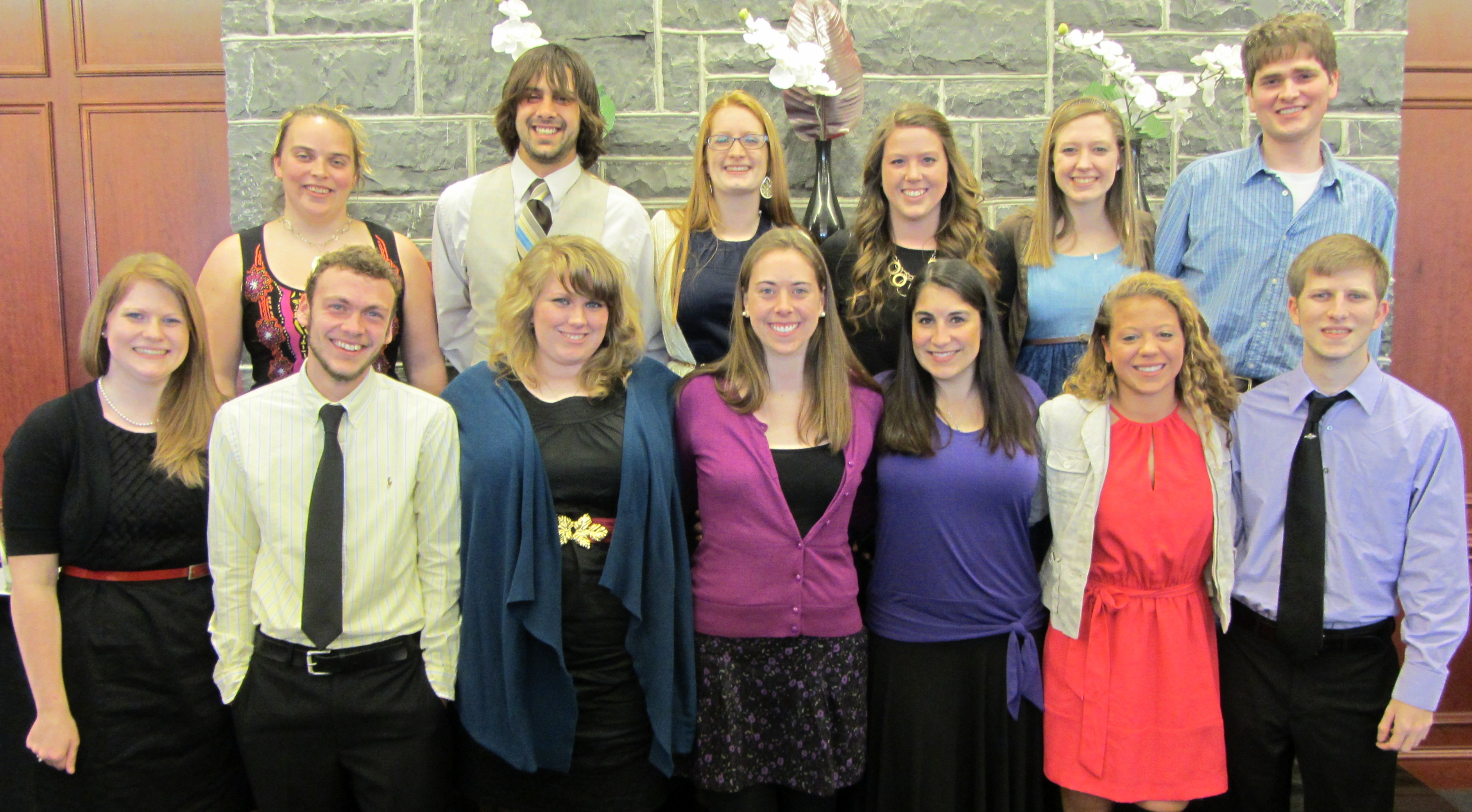 2013 honors night awardees