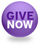 small round give now button