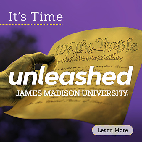 It's Time! Unleashed: The campaign for JMU.