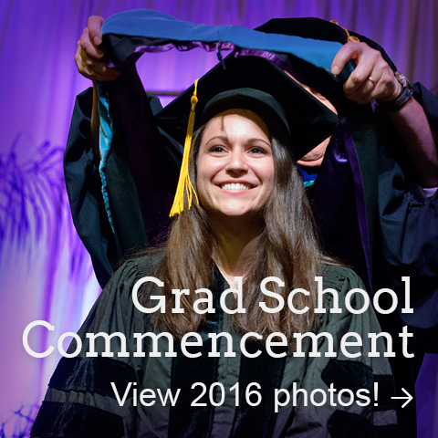 Graduate School Commencement Photos 2016