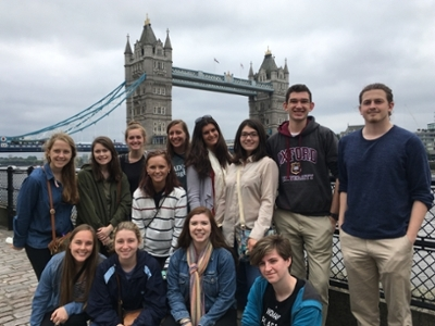 Honors College London Study Abroad 2018