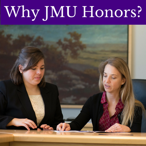 Why JMU Honors?
