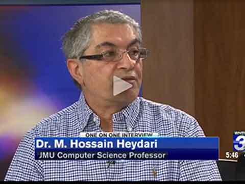 Hossain Heydari discusses Apple's refusal to help the FBI hack into an iPhone belonging to one of the San Bernadino terrorists on a local news broadcast