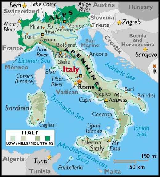 Worksheet. Map Of Italy Geography  Deboomfotografie