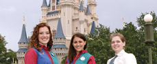 Photo: JMU students participate in Disney College Program