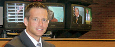 In just over a decade Brian Hamrick ('83) has earned seven Emmys as a TV reporter