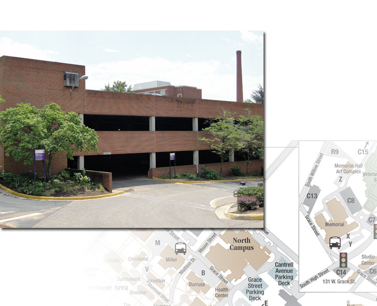 Cantrell Ave. Parking Deck (3-Level)