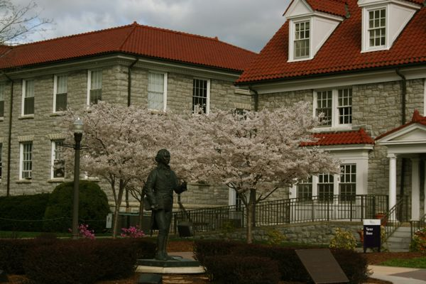 James Madison in Spring