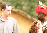 Dr. Joshua Linder speaks with Cameroonian native