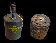 Mi6A1 mine, new and old