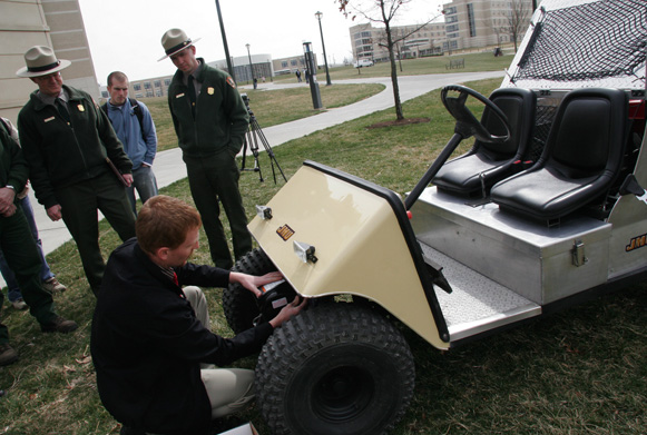 alternative fuel cart