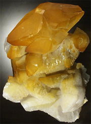 calcite specimen from the JMU Mineral Museum