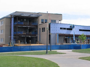 bioscience building construction site