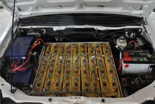 battery pack under the hood
