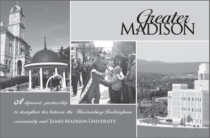 Greater Madison Information Card - front