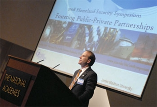 John Noftsinger speaks at IIIA 2008 Symposium