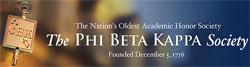 Phi Beta Kappa Web banner