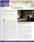 Political Currents newsletter cover page